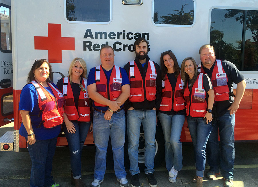 Northeast Louisiana Red Cross team
